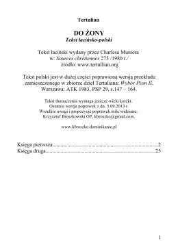 DO ŻONY - Broszkowski, Krzysztof OP