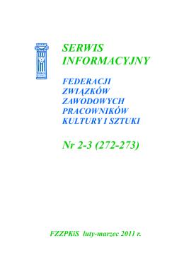 02-03 - Federacja Związków Zawodowych Pracowników Kultury i