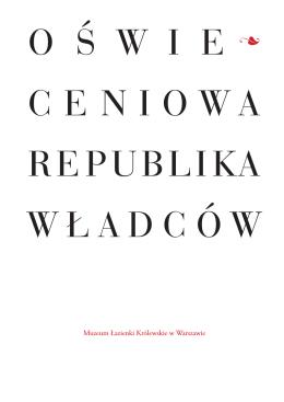 Oświeceniowa republika władców-broszura