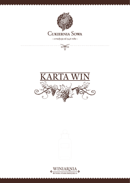 KARTA WIN - Restauracja SOWA