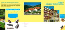 isospan – ekologický stavebný materiál