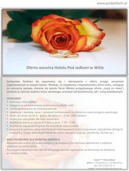 organizacja-wesel - Hotel Pod Jedlami