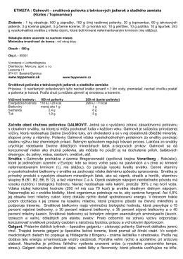 Návod, etiketa a zloženie (PDF)