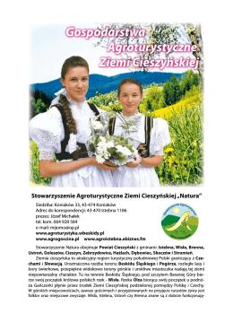 Gospodarstwa agroturystyczne Ziemi Cieszynskiej