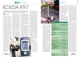 Artykuł o odbiorniku Kolida K9-T