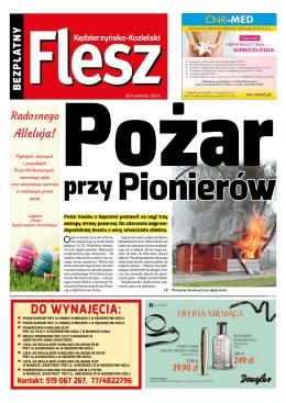 Flesz Kędzierzyńsko-Kozielski 18 kwietnia 2014