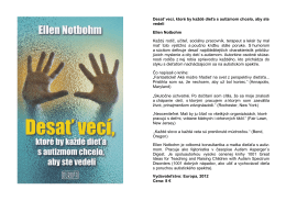 Nová kniha z vydavateľstva Europa aj u nás