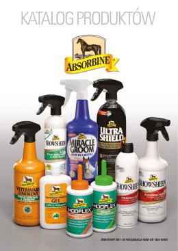 Absorbine – Katalog produktów - Dla
