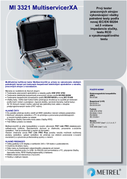 MI3321 MultiservicerXA