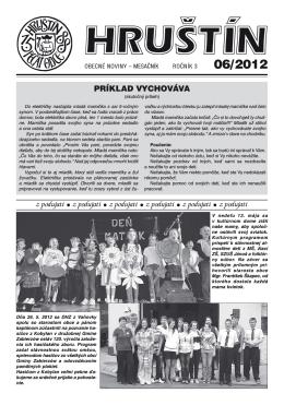 Jún 2012 - Obec Hruštín