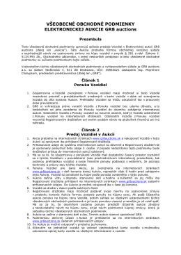 VOP elektronická aukcia _01-01-2014