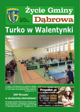 Dąbrowa Turko w Walentynki - Gminny Ośrodek Kultury i Rekreacji