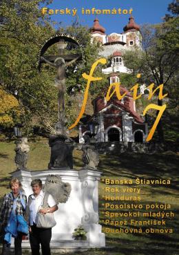 FAIN 7 - marec 2013 - Farnosť Špačince