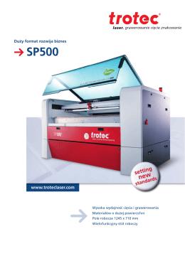SP500 - Trotec Laser