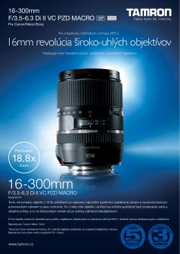 16-300mm