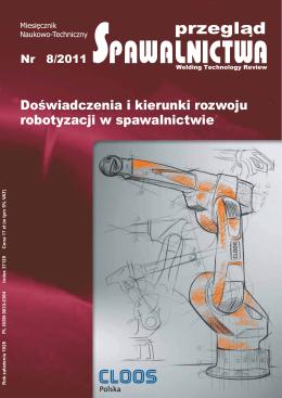 Przegląd Spawalnictwa 8/2011