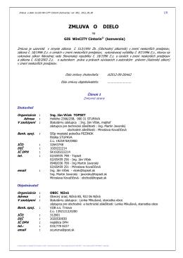Zmluva o dielo WinCITY Cintorín (pdf)
