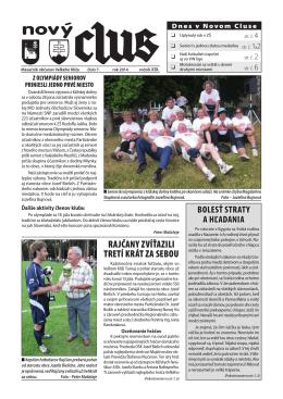 Obecné noviny č.7 - 2014