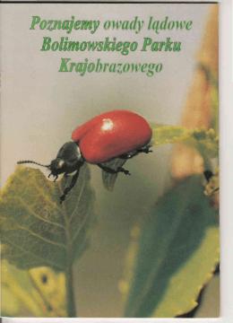 Broszura - Poznajemy owady lądowe BPK Pobierz plik PDF, rozm. 2