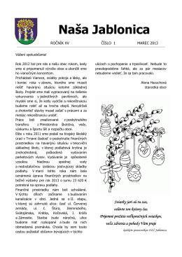 Naša Jablonica 1_2013