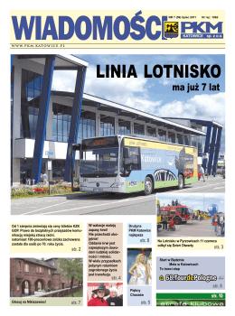 LINIA LOTNISKO - PKM Katowice Sp. z oo