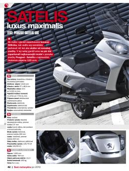 SATELIS luxus maximalis