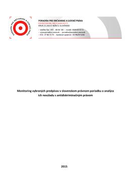 PDF, 261 KB - Poradňa pre občianske a ľudské práva