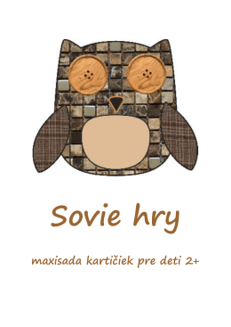 Maxisada sovy - mudramama.sk