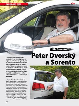 KIA Sorento a Peter Dvorský