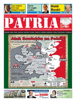 Hołd Ruski - Gazeta PATRIA