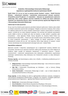 Konkurs Nestle_NHW_notatka prasowa