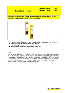 DataPro2x1 3x1 V Tr - El