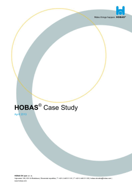 HOBAS Case Study