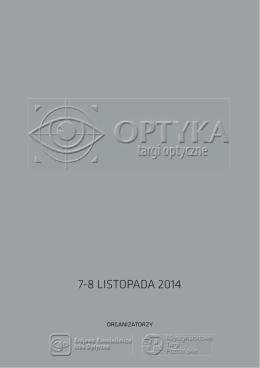 logotyp - Targi OPTYKA 2014 - Międzynarodowe Targi Poznańskie