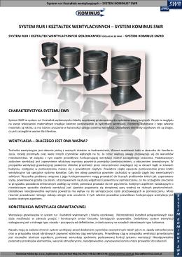 system rur i kształtek wentyla ri kształtek wentylacyjnych