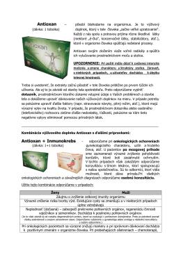 Antioxan Antioxan + Inmunokrebs