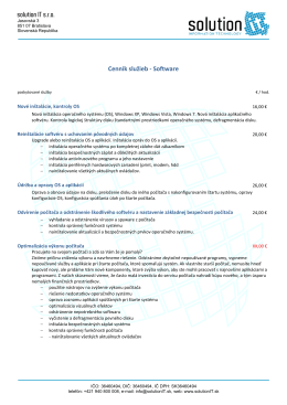 zobraziť v PDF - solutionit.sk