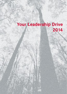 Your Leadership Drive 2014