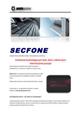 SECFONE - Gorilla System