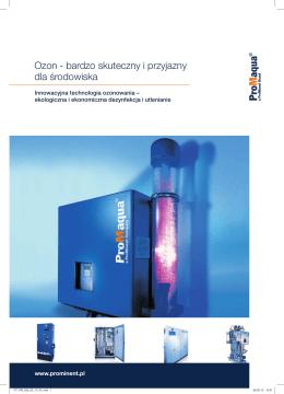 Broszurka - Systemy dezynfekcji ozonem