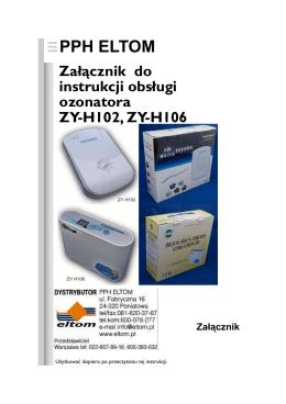 Pobierz przykłady zastosowania, opis działania ozonu, jonizacji