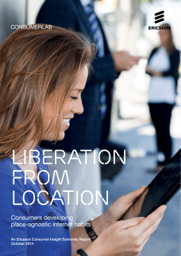 ConsumerLab report: Liberation from location