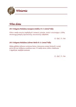 Winiarnia - Restauracja SOWA