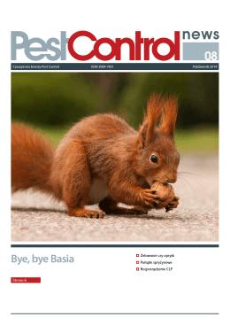 Bye, bye Basia - Pest Control News