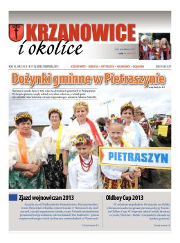 nr 7-8, 2013 - Urząd Miejski Krzanowice