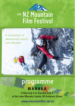 to the NZMFF programme
