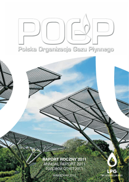 raport roczny 2011 annual report 2011 годовой отчет 2011