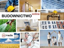 prezentacja oferty - BUDOWNICTWOonline