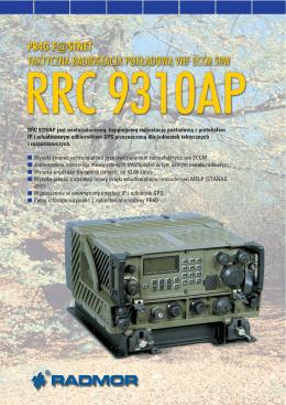 Radiostacja RRC 9310AP