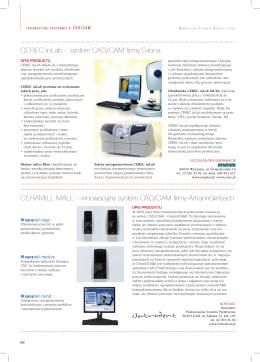 system CAD/CAM firmy Sirona